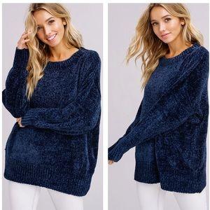Sweaters - Super Soft Chenille Sweater
